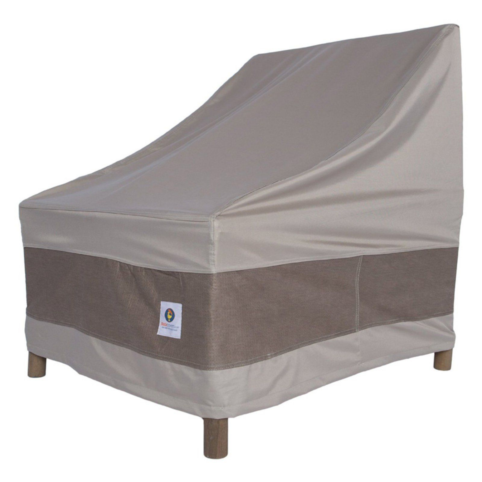 Duck Covers Elegant Stackable Patio Chair Cover Patio Chair