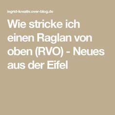 Photo of Wie stricke ich einen Raglan von oben (RVO) –