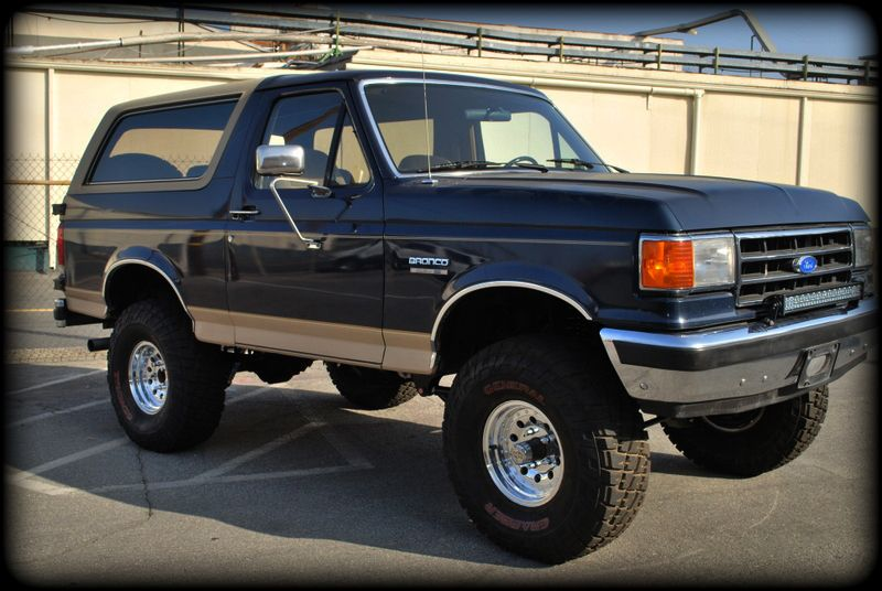 Cleanest Ford Bronco Of The 87 91 Era Ive Ever Seen Ford Bronco