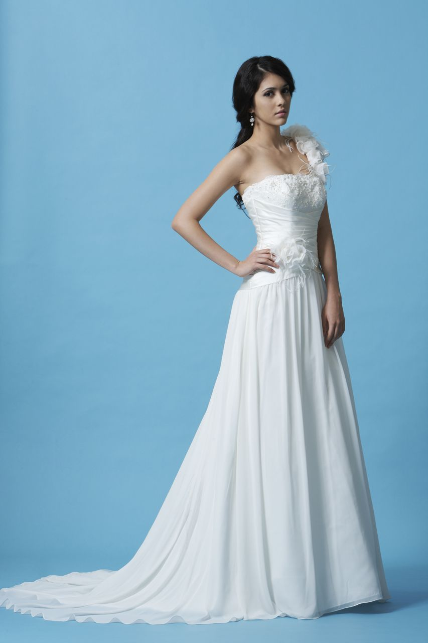Pleated wedding dress  Style MLU  Weddings Wedding dress and Gowns
