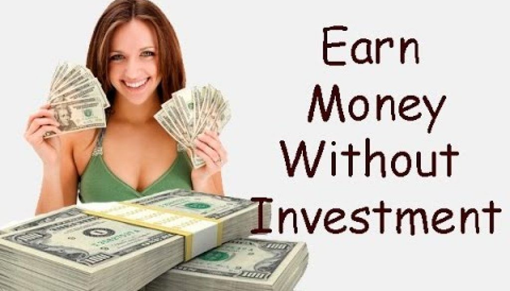 how to make real money online with no investment
