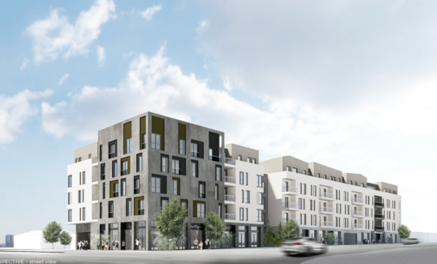First Development Site Under New Zoning Regulations Trades Hands Globest Multifamily Multifamily Property Management Best Location Wood Frame Construction
