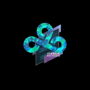 Steam Community Market Listings For Sticker Cloud9 Holo Boston 2018 Cloud 9 Marketing Holo