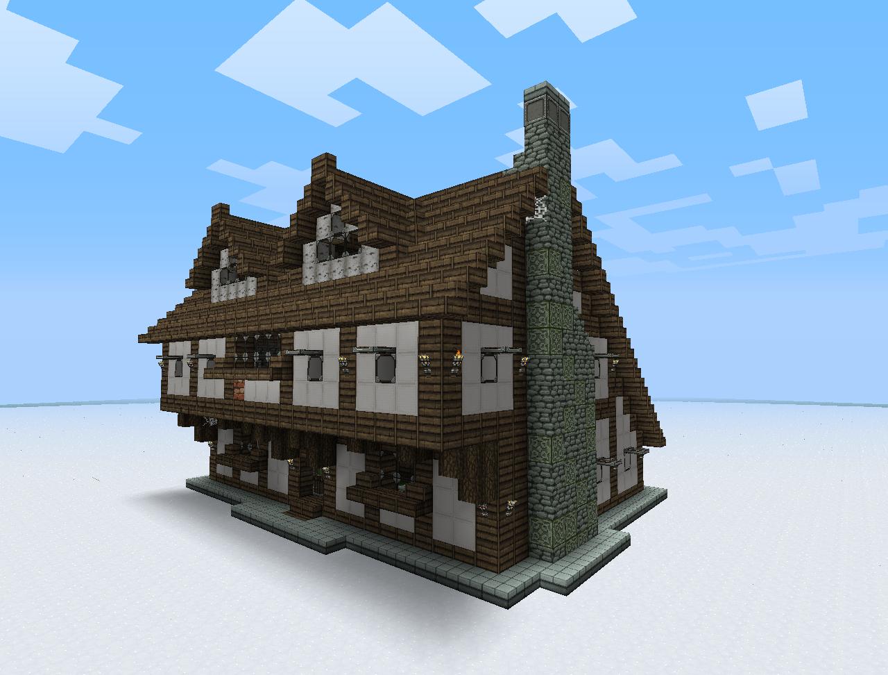Building A House Medieval Building Bundle   Medieval Minecraft ...