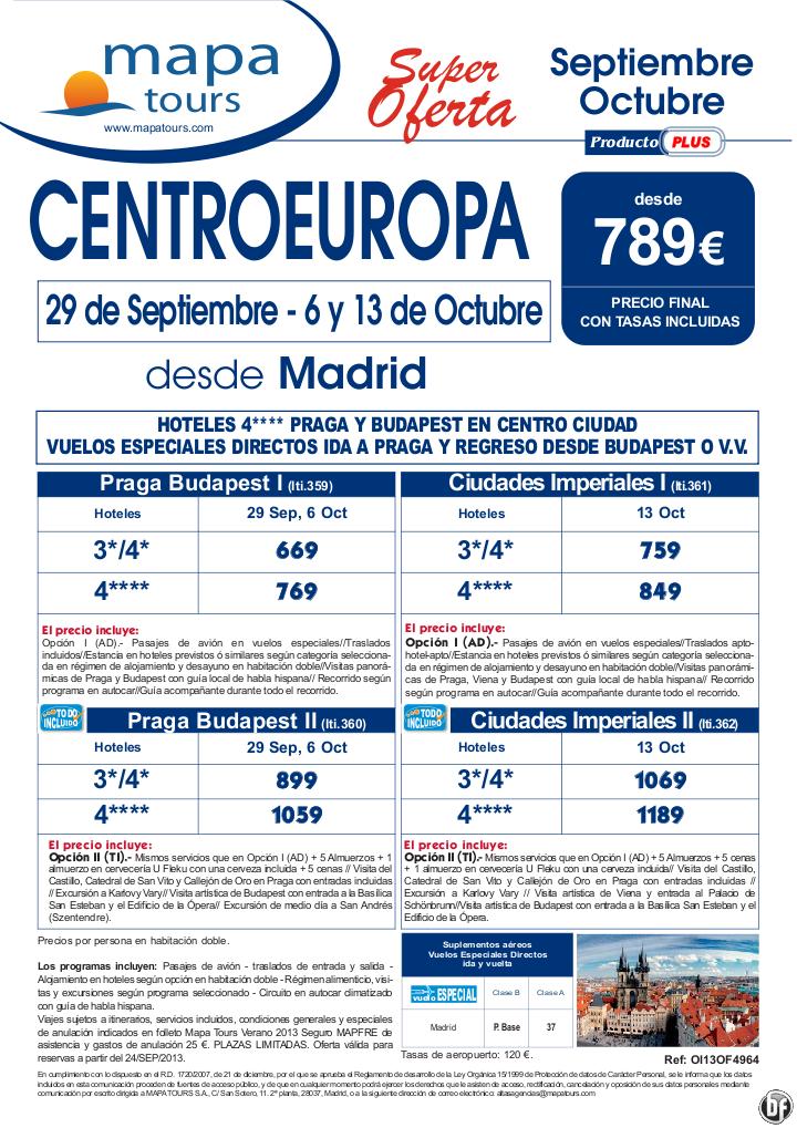 Centroeuropa desde Madrid, salidas Septiembre y Octubre **desde 789** - http://zocotours.com/centroeuropa-desde-madrid-salidas-septiembre-y-octubre-desde-789-4/