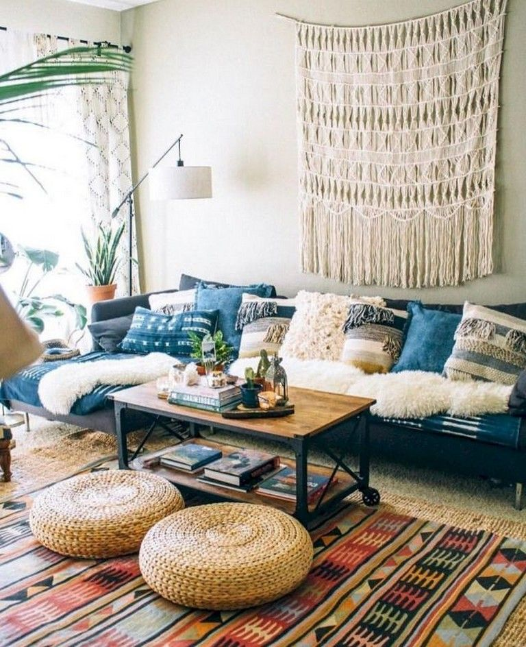 80 Awesome Bohemian Living Room Decor Ideas Bohemian Livingroomdecor Livingroomdecorid Bohemian Living Room Decor Hippie Living Room Minimalist Living Room