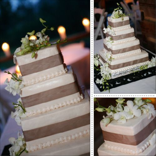 Rustic Square Wedding Cake Ideas