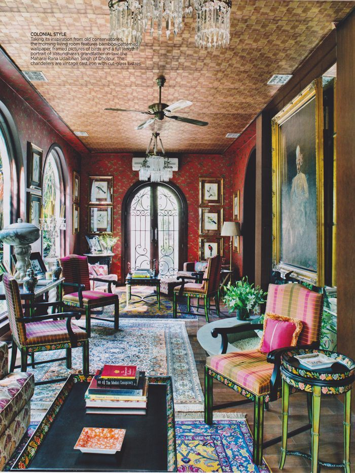 Old home interior framed pictures.