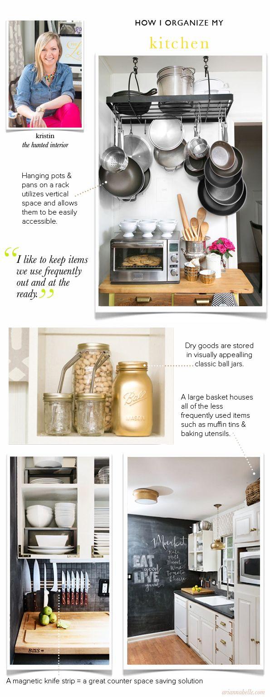 Kristin's Kitchen // How I Organize Series // www ...