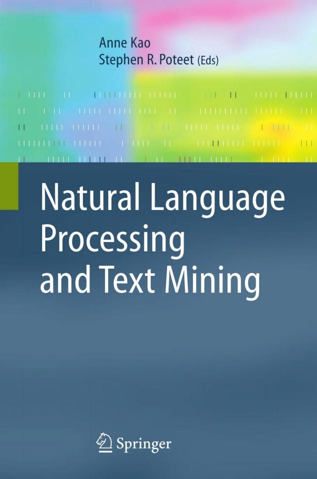 Natural Language Processing And Text Mining Ebook Natural Language Language Text