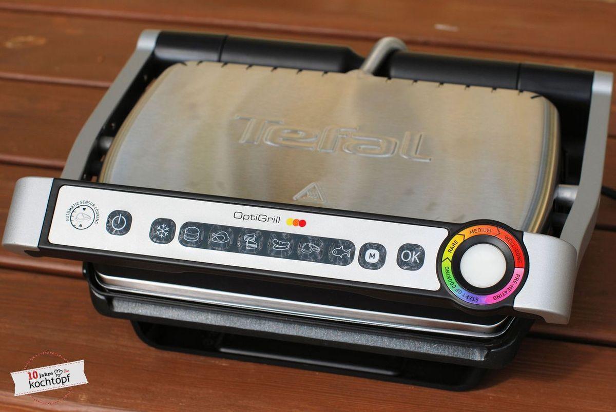 Grillen Nach Farben Optigrill Von Tefal Im Test Rezept Grillen Kontaktgrill Kuchen Helfer