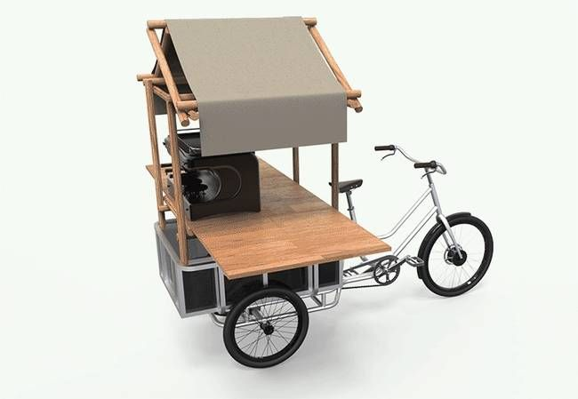 Sanitov's movE electric cargo trike costs $1595 and can haul