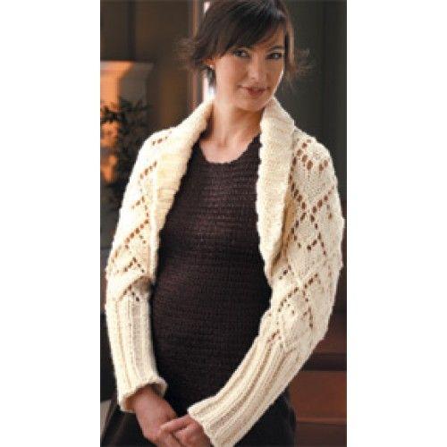 Free Bulky Shrug Knit Pattern - Free Patterns - Books & Patterns ...