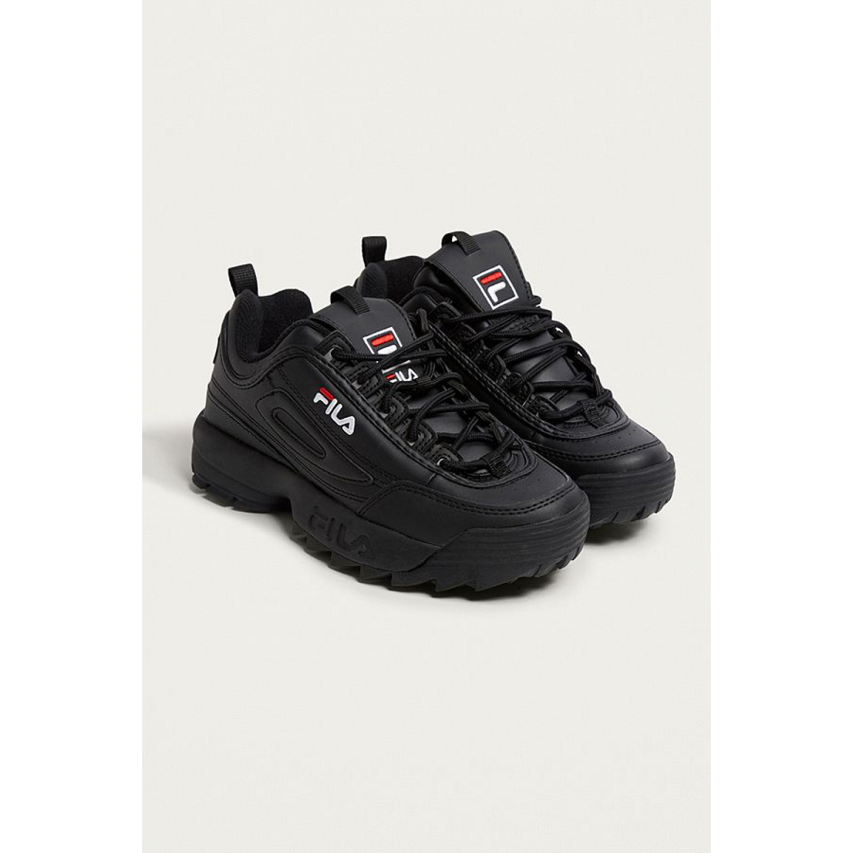 Ii Fila 90s Style Sneakers Trainers Disruptor Black Premium Ladies DE2IWH9Y