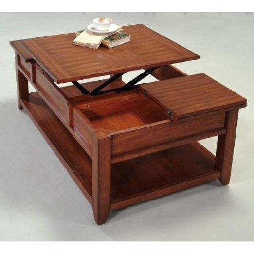 Amazon.com   Progressive Furniture Coral Gables Rectangular Wood Castered  Lift Top Coffee Table