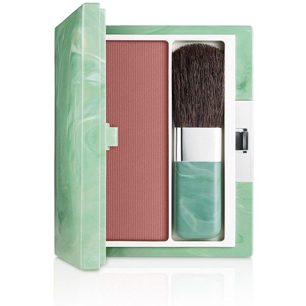 Clinique Soft-Pressed Powder Blusher (72 BRL) ❤ liked on Polyvore featuring beauty products, makeup, cheek makeup, blush, fig, clinique, clinique blush and powder blush