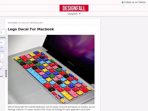DESIGNFALL - la tastiera LEGO
