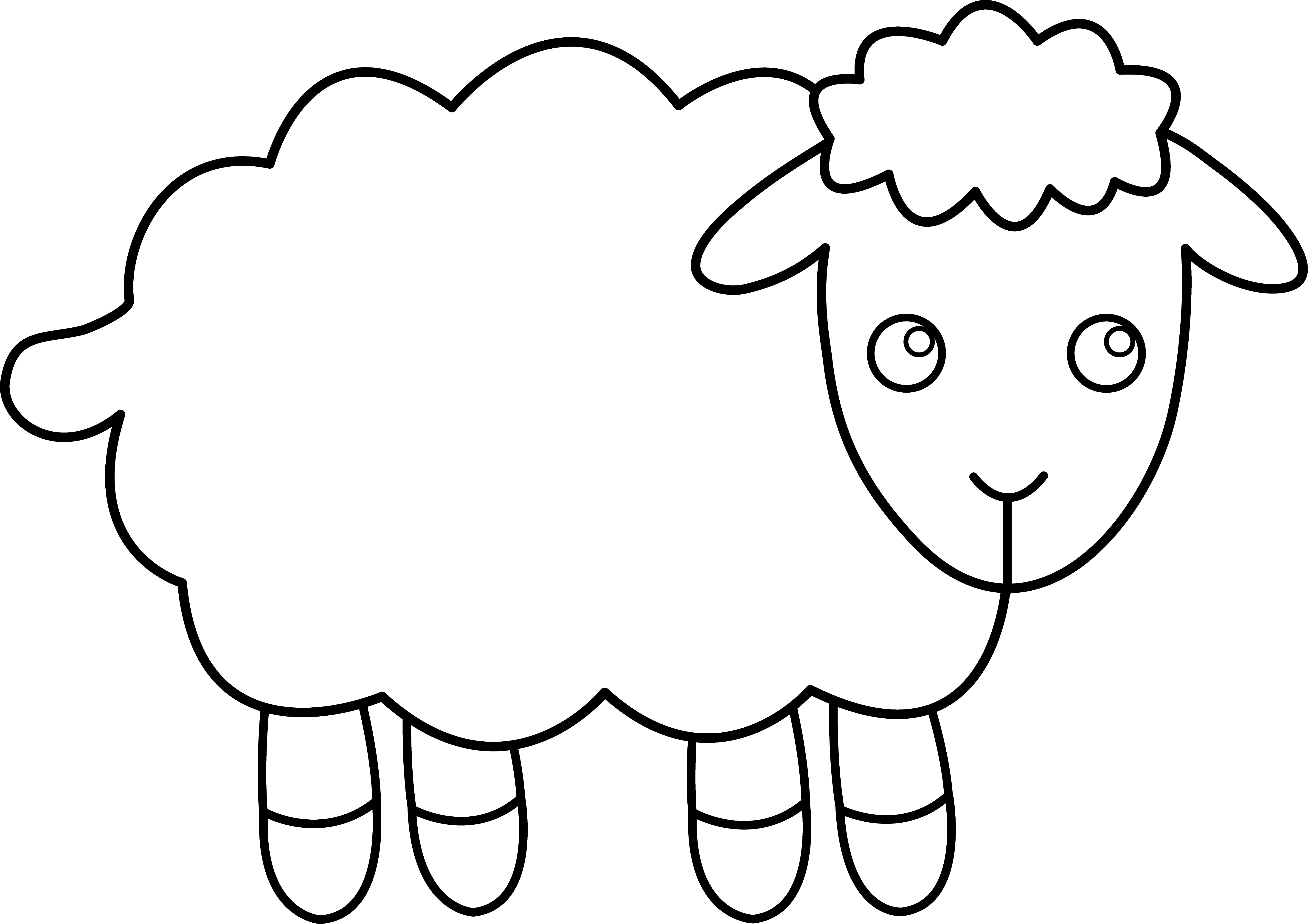 Sheep Clipart Clipart Panda