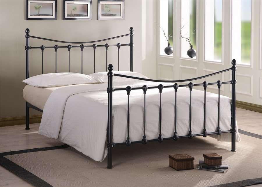 Best Florida King Size Metal Bed Frame Black Metal Bed Bed 400 x 300