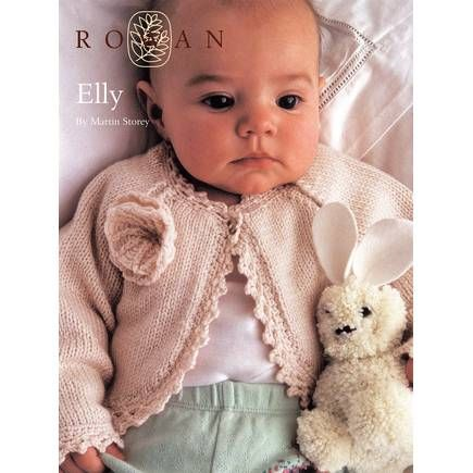 Free Pattern Rowan Elly Baby Cardigan | Hobbycraft | DIY | Pinterest ...