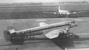 4 February 1948 - SNCASE SE.161/P7 Languedoc (F-BATK) was damaged beyond economical repair at Marignane Airport, Bouches-du-Rhône.