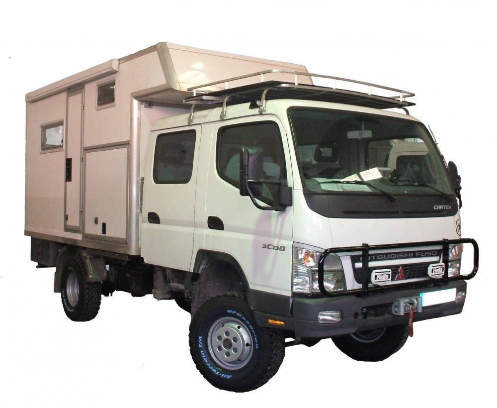 Mitsubishi Canter Double Cabin 4x4 Camper Mitsubishi Canter
