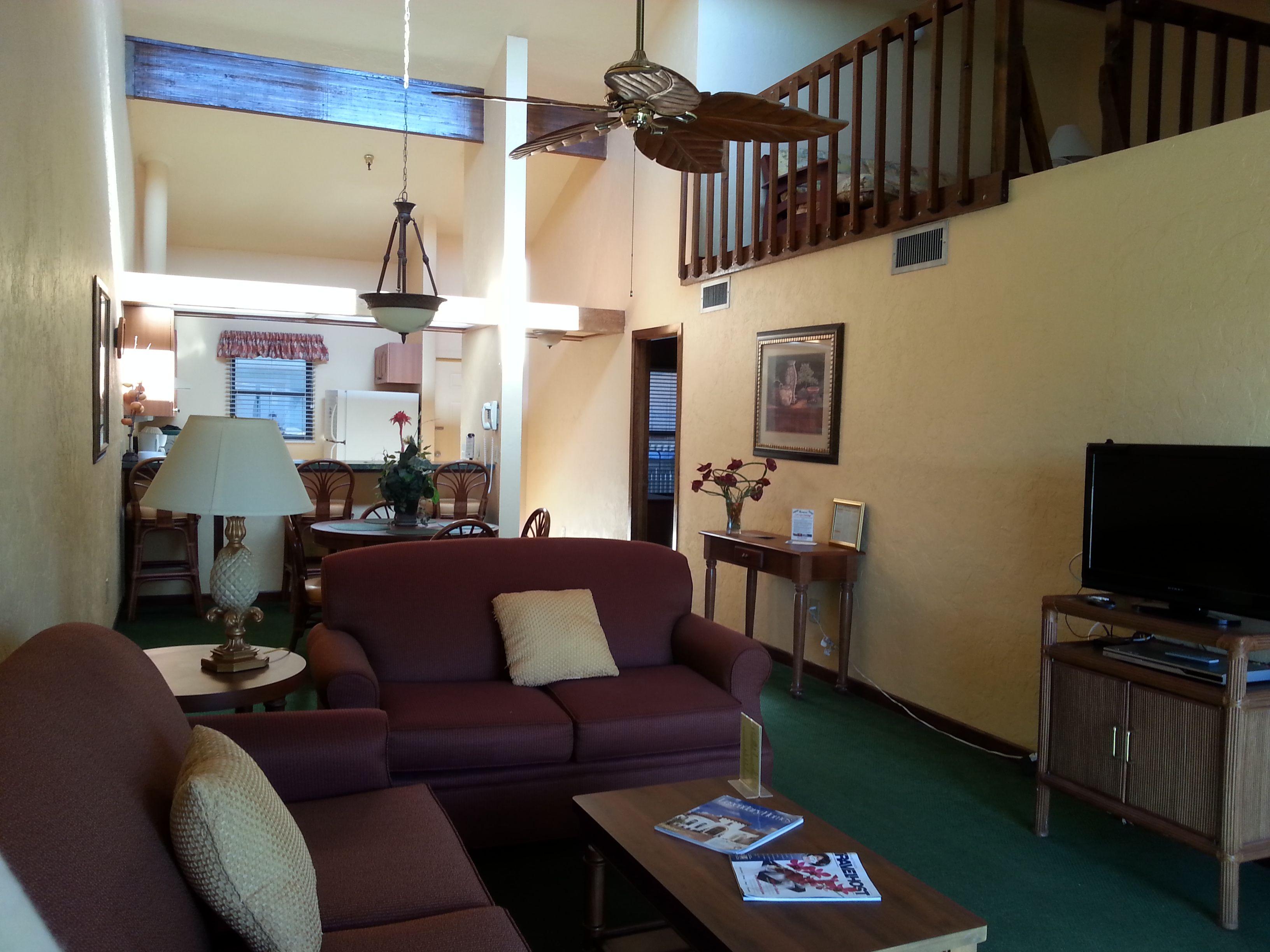 View of inside of Villa at Fishermen's Village Resort ...