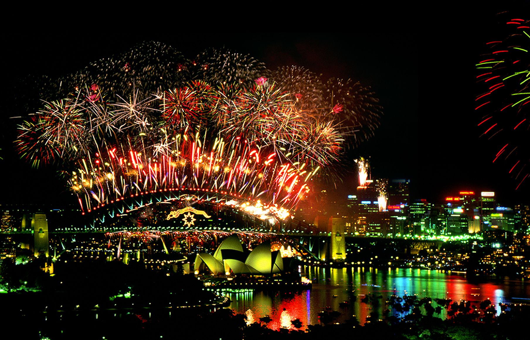 2000 Sydney New Year's Eve Centenary of Federation. In