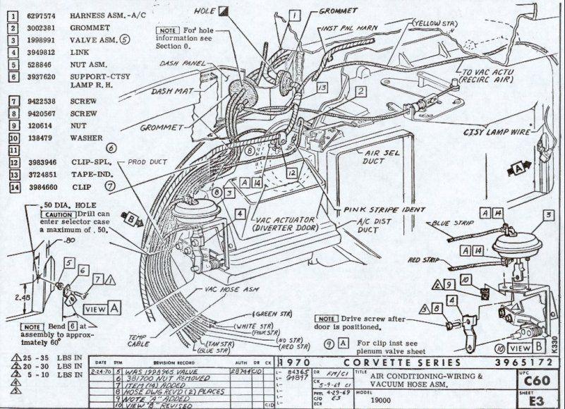 1969 Stingray Corvette Wiring Diagram