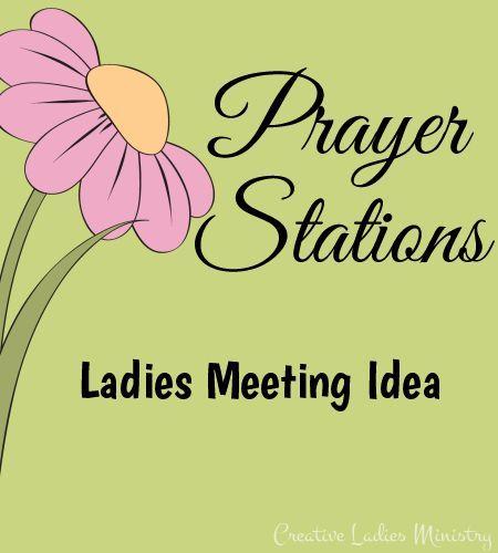 Creative prayer meeting activities games