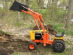 Case 220 garden tractor loader 1 jason 39 s stuff pinterest garden tractor attachments for Small garden tractors with front end loaders