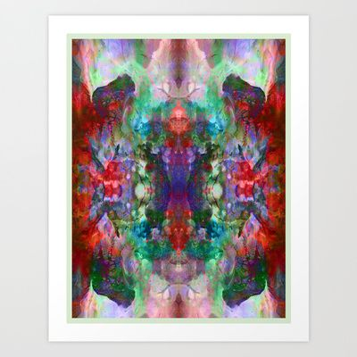 Isolated Planet Art Print by Work the Angle - $17.00