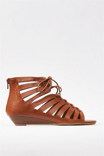 Laced Up Sandal