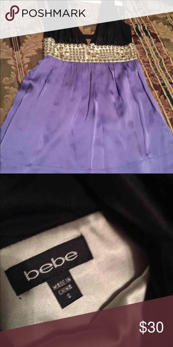 Bebe Dress Worn Once been dried cleaned bebe Dresses Mini