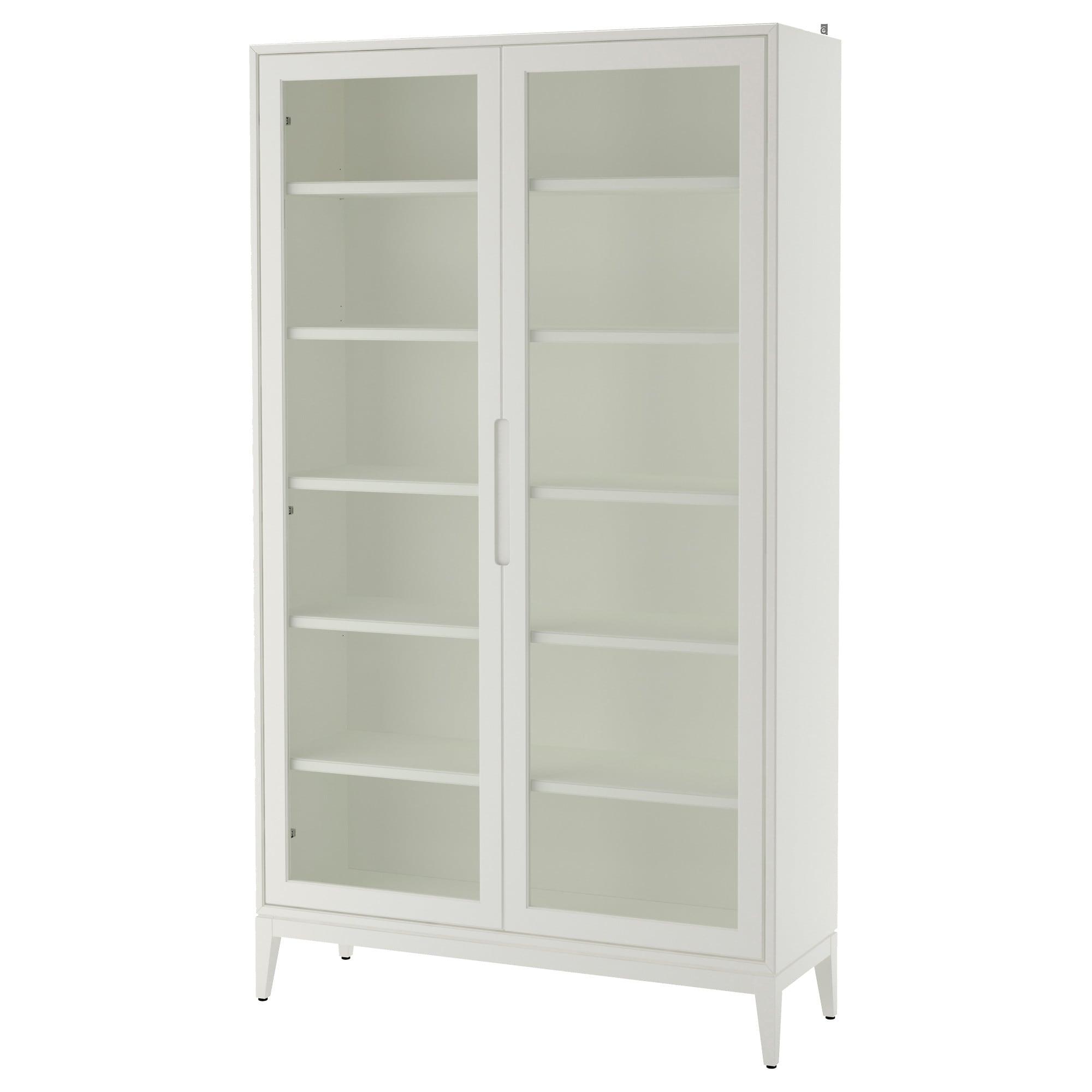 Ikea Regissor White Glass Door Cabinet Glass Cabinet Doors