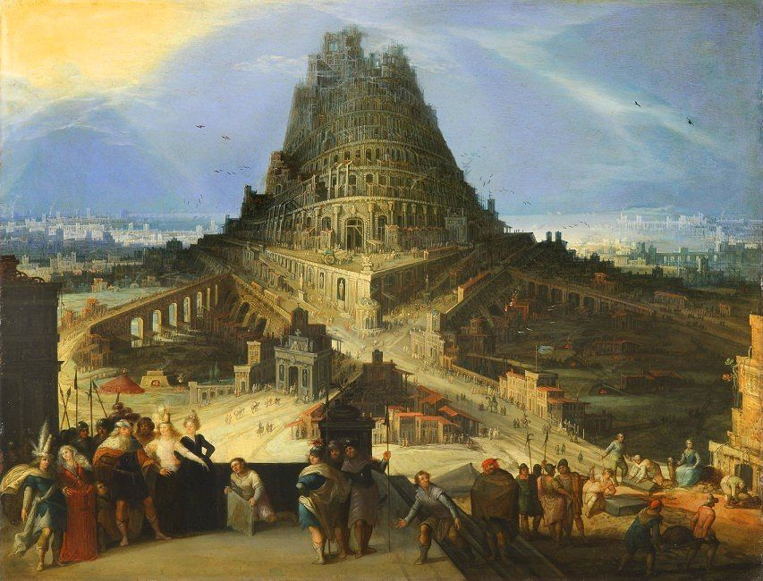 The Tower of Babel by van Cleve
