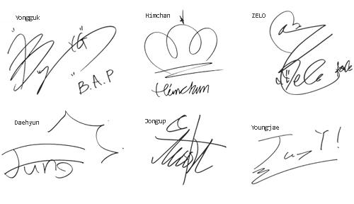 B A P Kpop And Bap Image Signature Ideas Signature Fonts Bap