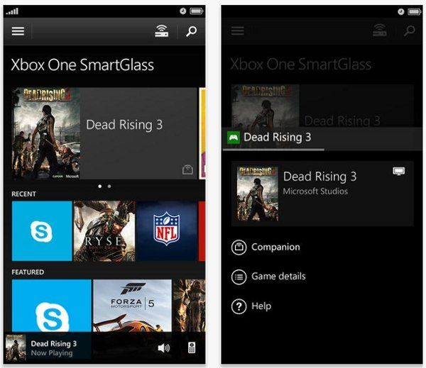 Xbox One SmartGlass companion app now available on iOS
