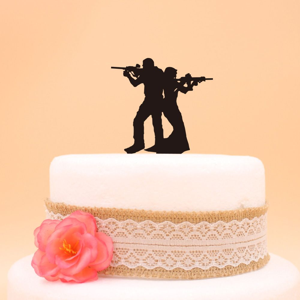 The Bride and Groom Funny Wedding Cake Topper - Wedding Look ...