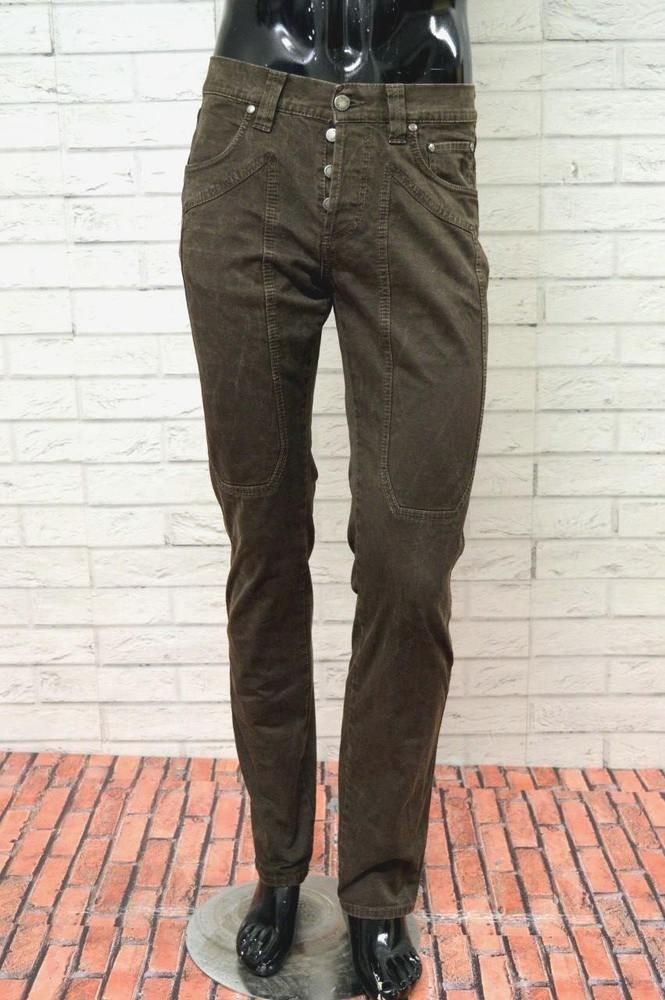 Jeans Pantalone Slim Taglia Primavera Uomo Jeckerson Pants Size 31 w8ERX