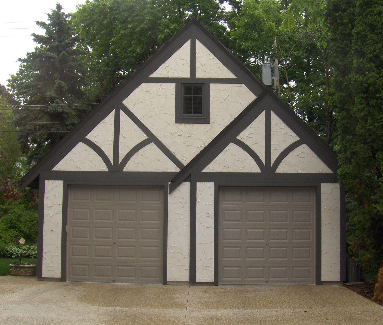 New garage in Whitefish Bay, Wisconsin.  Designed by Matthew Krier of Design Group Three.