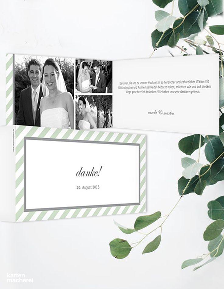 Dankeskarte Hochzeit \