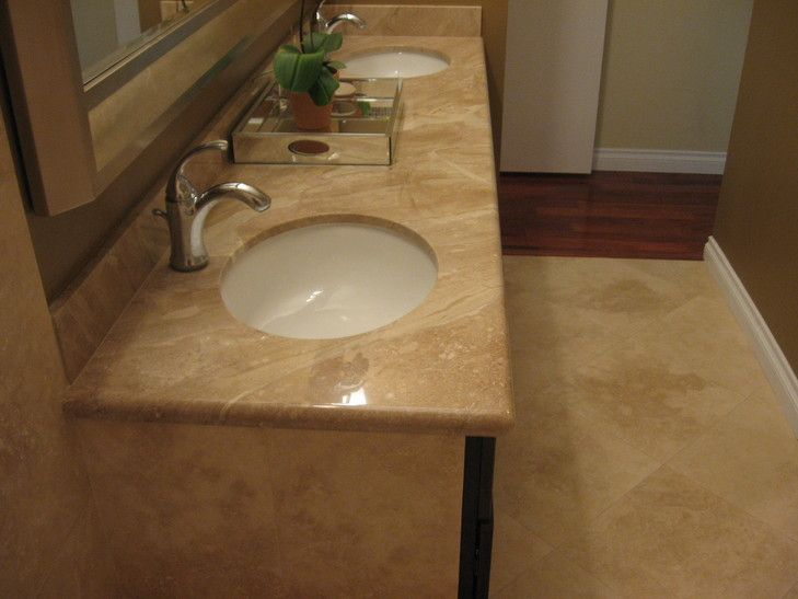 18 Inch Honed Travertine Tile Installation Contractor San Diego