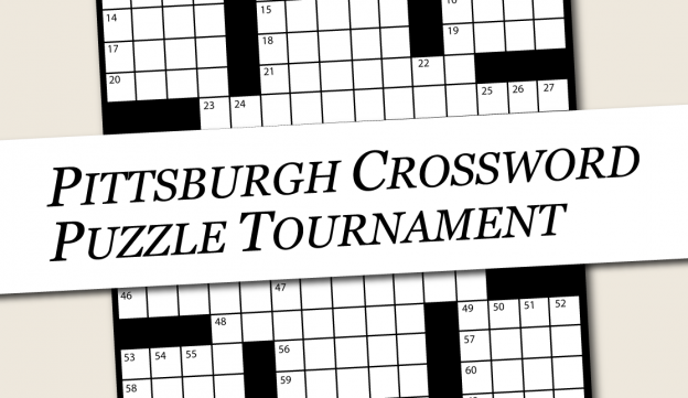 The Pittsburgh Crossword Puzzle Tournament Is Back In Its Fourth Year Gathering Local Solvers To Take On Not Just Clues But Crossword Puzzle Crossword Puzzle