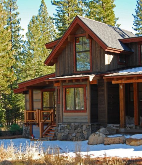Montana Ghost Wood Mountain Home Exterior Exterior House Colors Cabin Exterior Colors