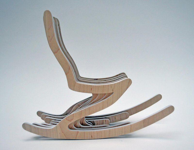 modern rocking chair modern rocking chair for young people skeleton rocker image - Rocking Chair