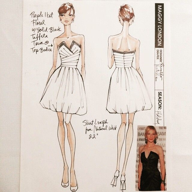#tbt Maggy London Dresses 2011 @shawnamcgee_ny @lrpeacock #renaldobarnette #strapless #straplessdress #fashion #fashionart #sketches #fashionsketch #dress #dressdesign #fashiondesignsketch #designsketch #chic #pretty #instalike #lookoftheday
