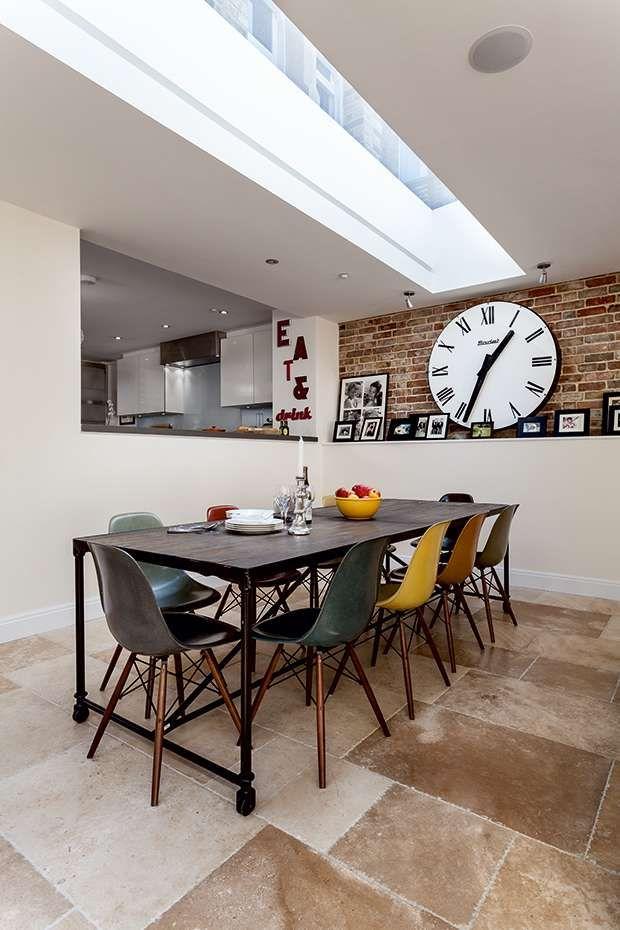 Dining Room  Victorian Basement Extension  Homebuilding Cool Basement Dining Room Inspiration Design