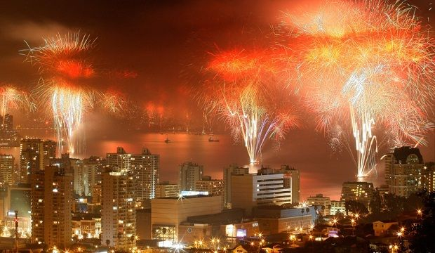 Top South America Cities For 2015 New Years Eve Celebration New Year S Eve Around The World New Years Eve Fireworks America City