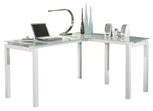 Top 10 Contemporary Glass Top Computer Desk Of 2019 Home Office